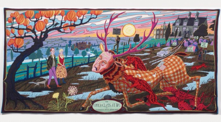 The Vanity of Small Differences (detail) by Grayson Perry 2012